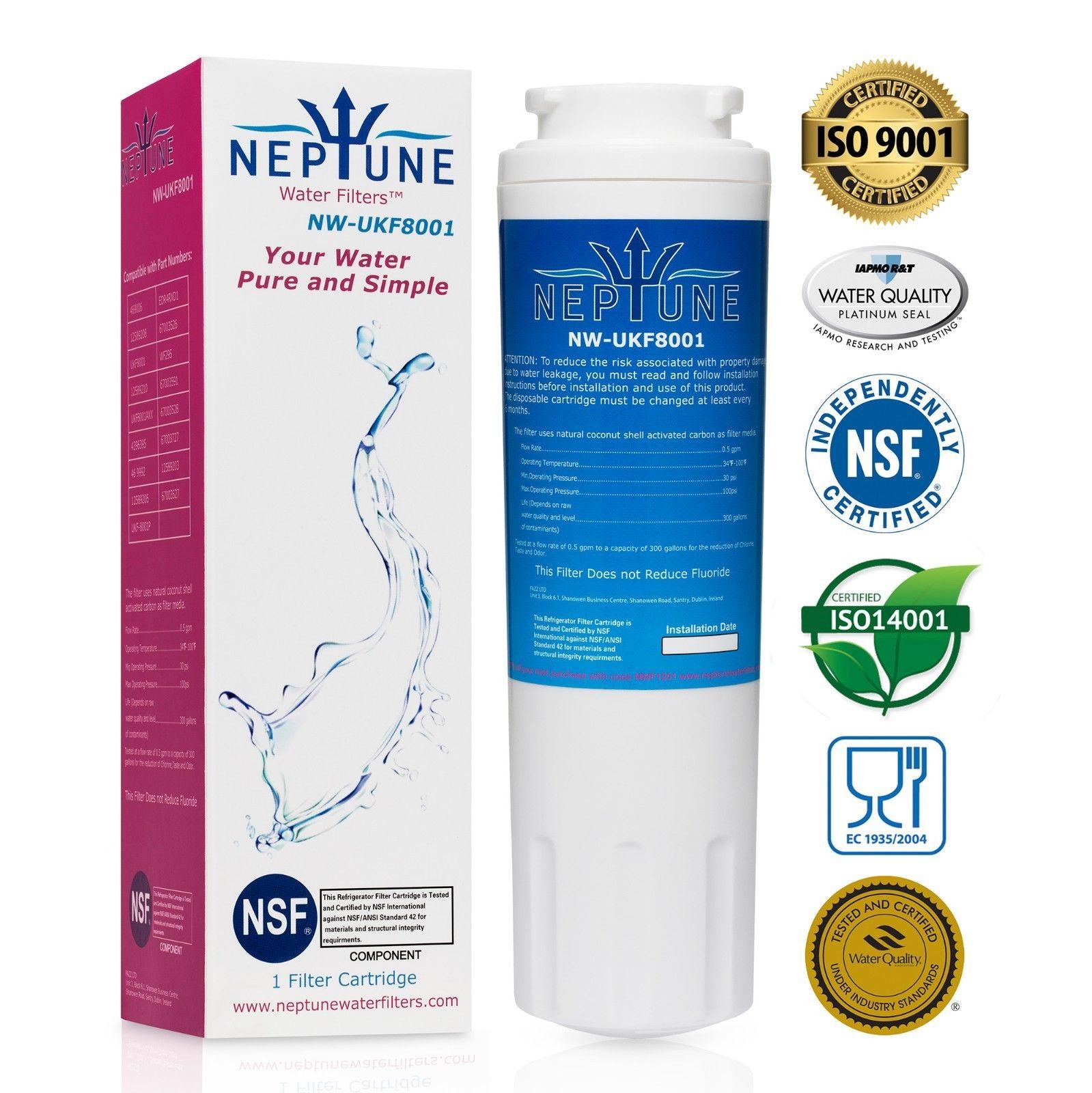 46-9006 Compatible Refrigerator Water Filter 1X Maytag UKF8001 Kenmore 9006